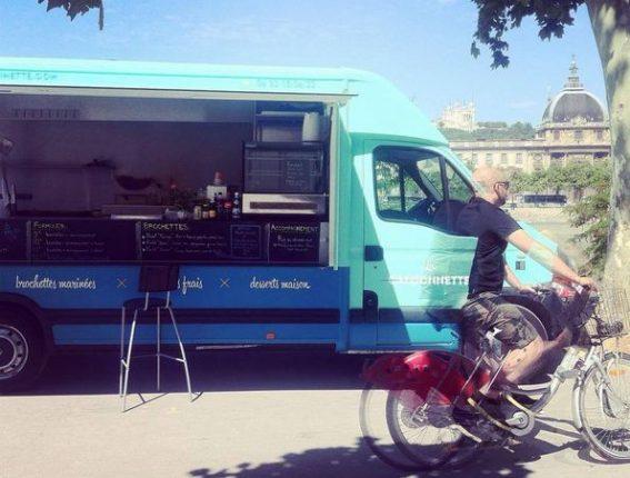 La Camionnette truck food