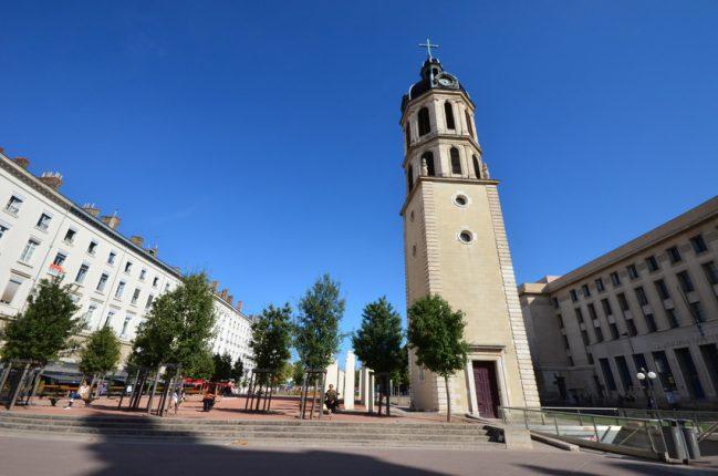 Place Antonin Poncet Lyon.