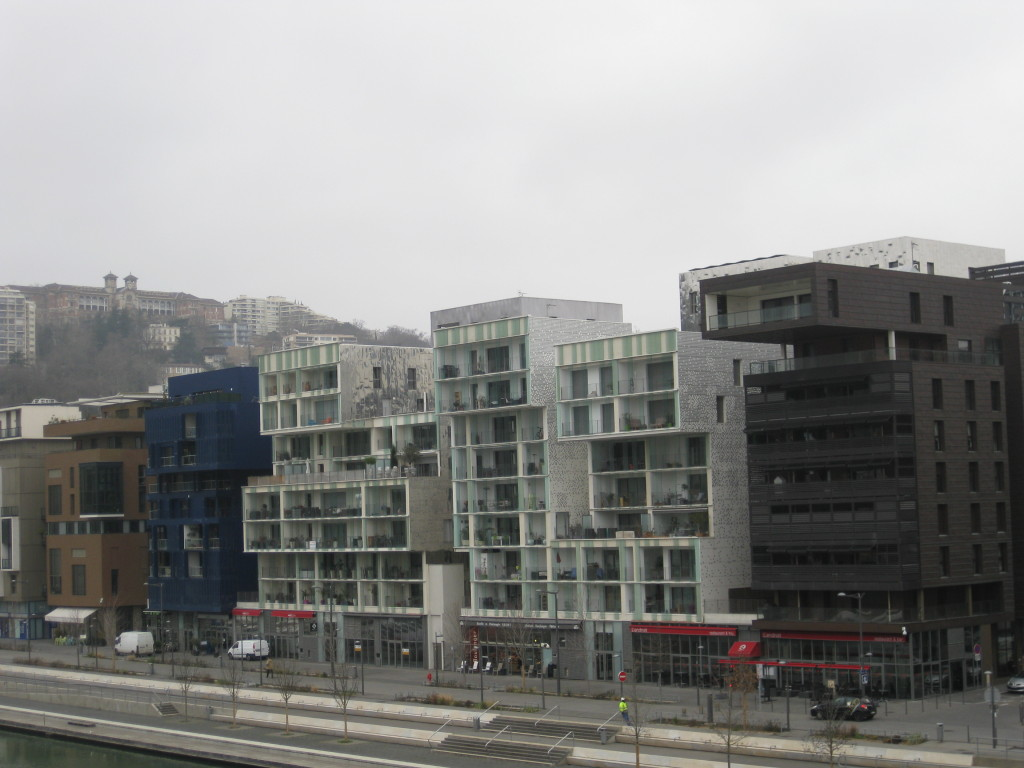 Modern Part of Lyon