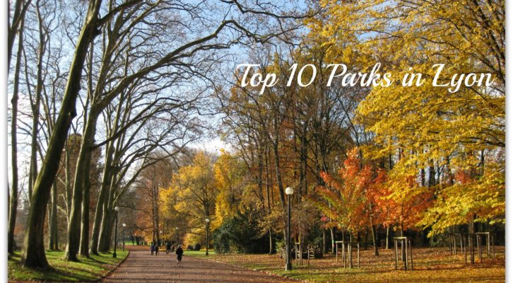 [ENG] Top 10 Parks in Lyon
