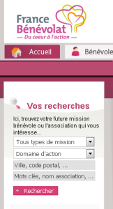 France bénévolat recherches