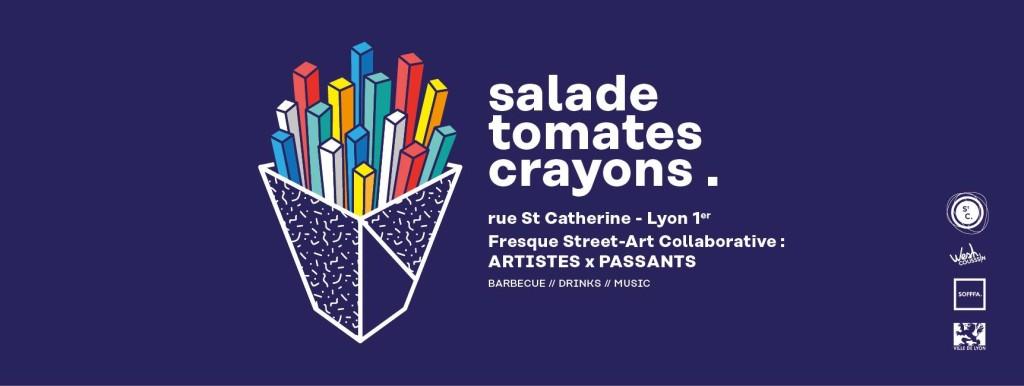 salade tomates crayon