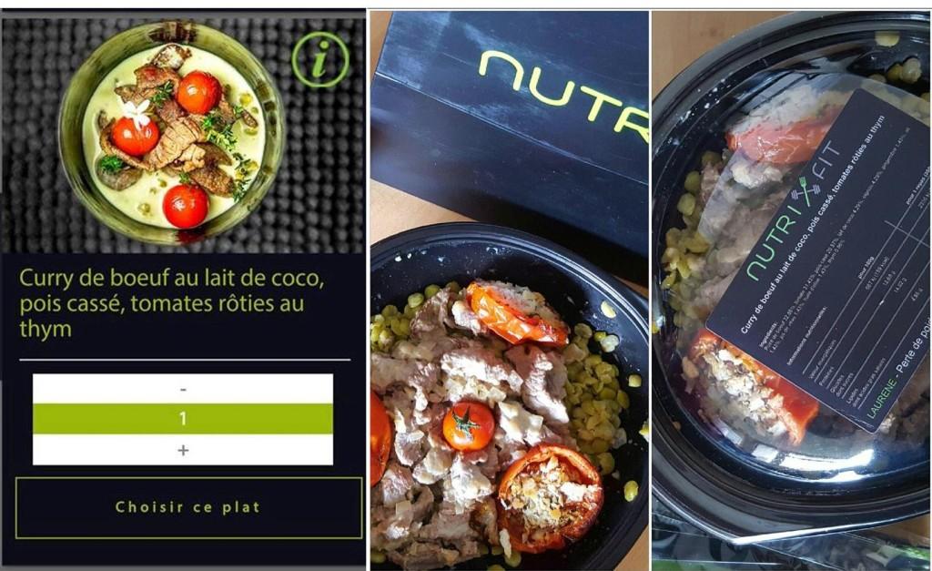 Nutrifit photo vs realite