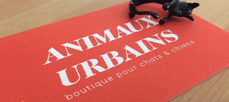 Animaux urbains, la boutique pour chats & chiens