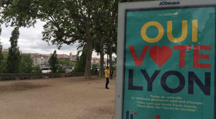 Lyon nominée aux World Travel Awards