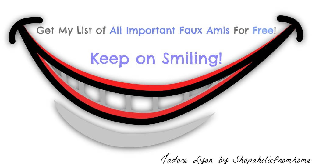 All Important Faux Amis For Free