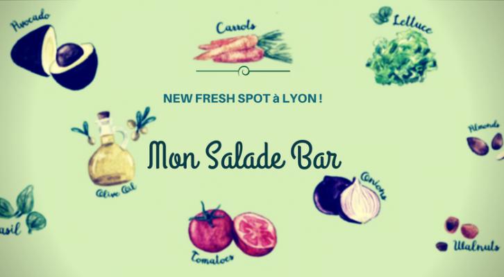 MSB - Mon Salade Bar ou la pause déjeuner fraîcheur à composer soi-même !