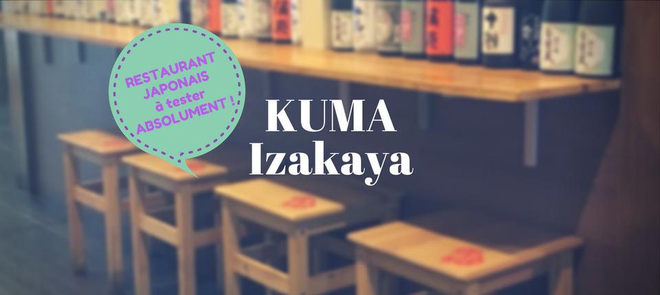 Le Japon à Lyon chez KUMA Izakaya
