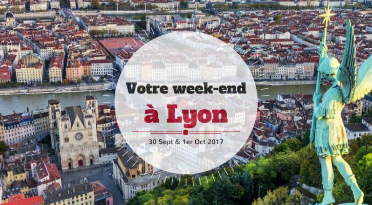 Nos coups de cœur du week-end à Lyon (30 sept-1er oct)