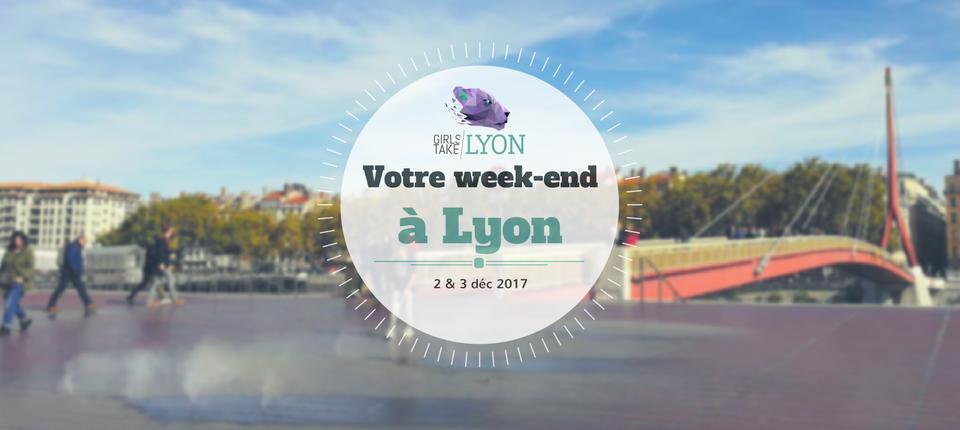 Nos coups de cœur du week-end à Lyon (2-3 décembre)