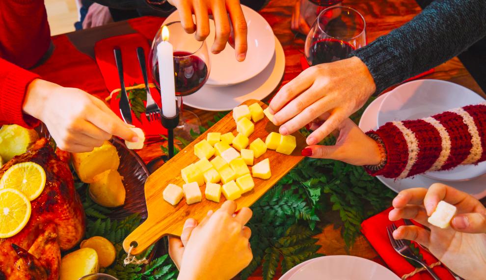 Calendrier de l'Avent : J 9 – Du fromage en bouquet