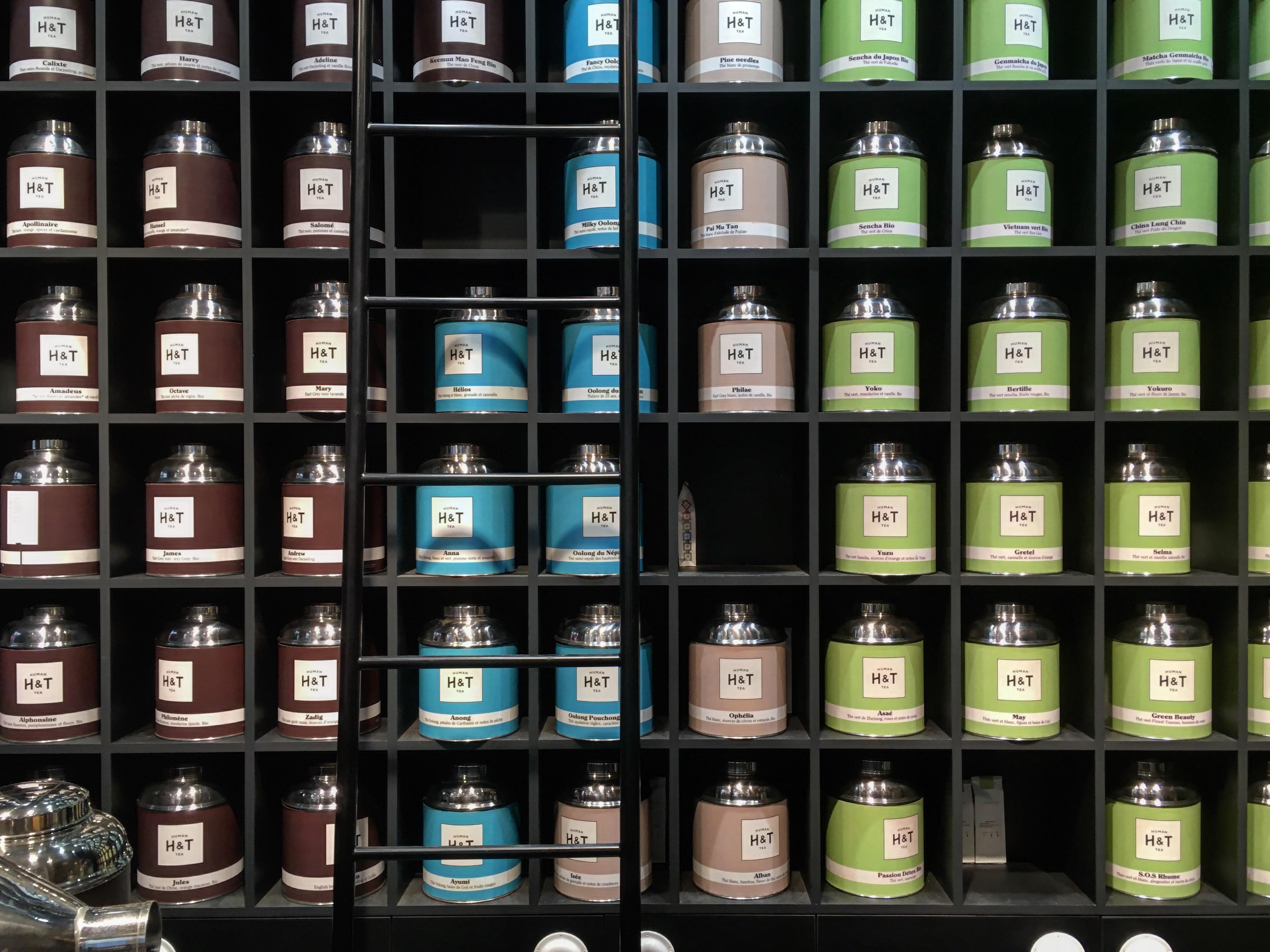Human & Tea: craquage sur le thé