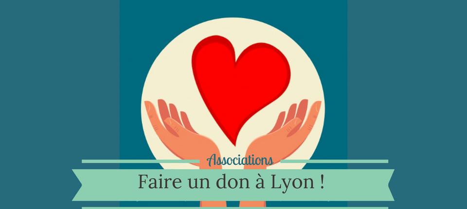 Faire un don à Lyon, un cadeau solidaire