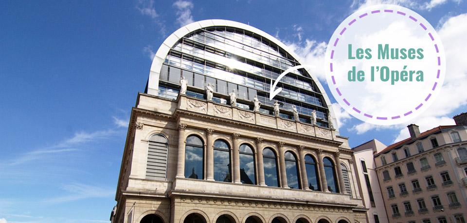 Les muses de l'Opéra de Lyon – Bar panoramique