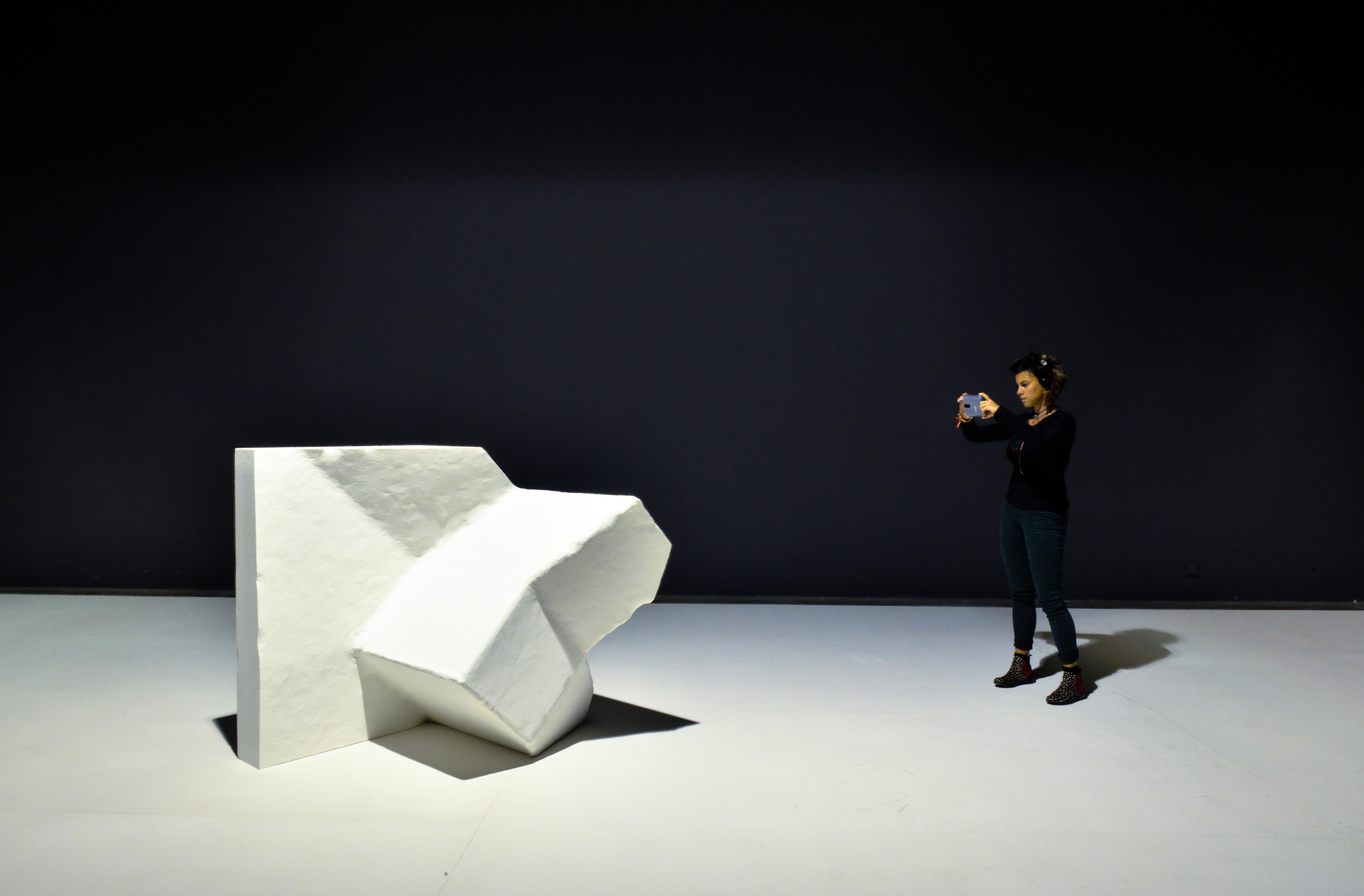 Blind sculpture de Marie Lelouche