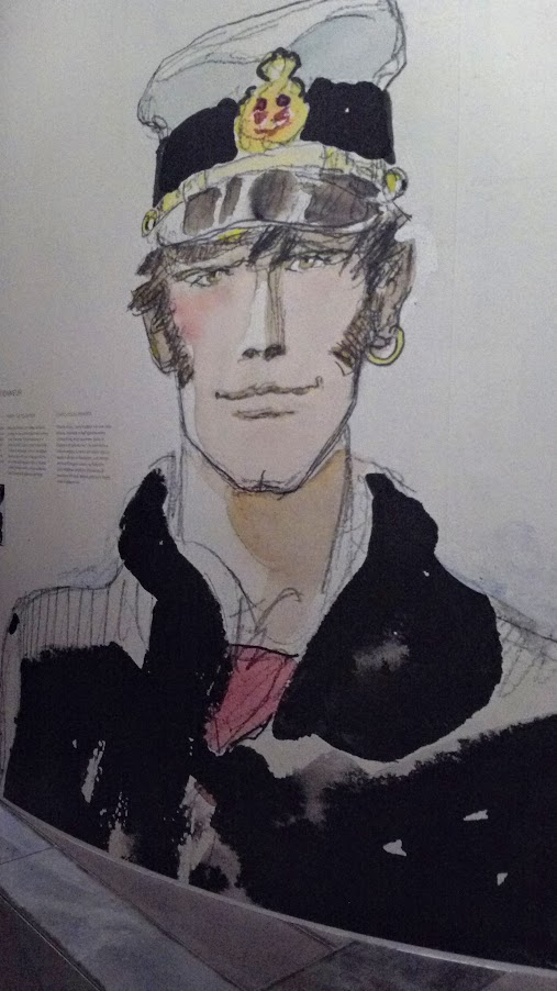 Portait de Corto Maltese