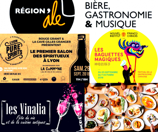 Evénements Lyon Food & Drinks