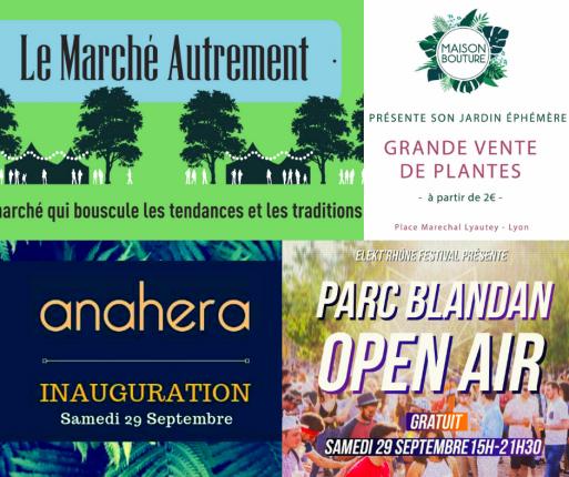 Marché et Open Air Lyon