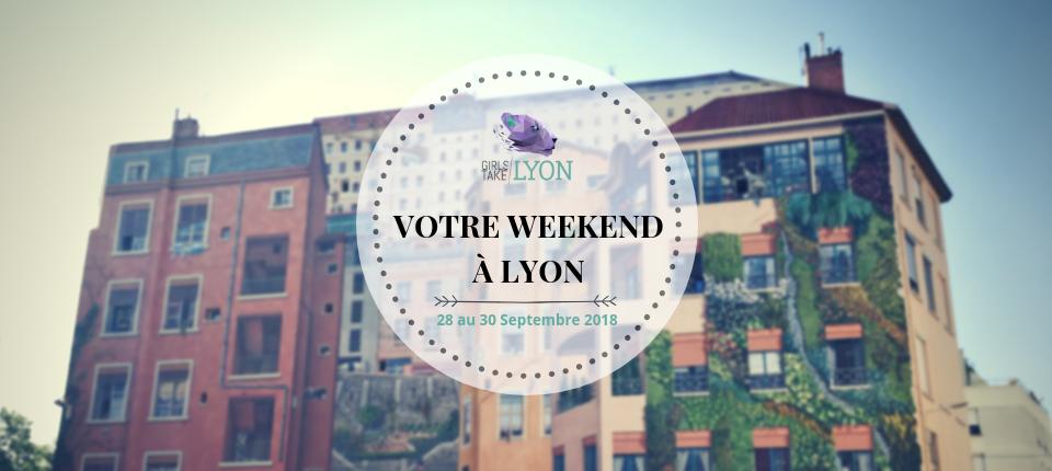 Nos coups de cœur du week-end à Lyon (28 au 30 septembre)