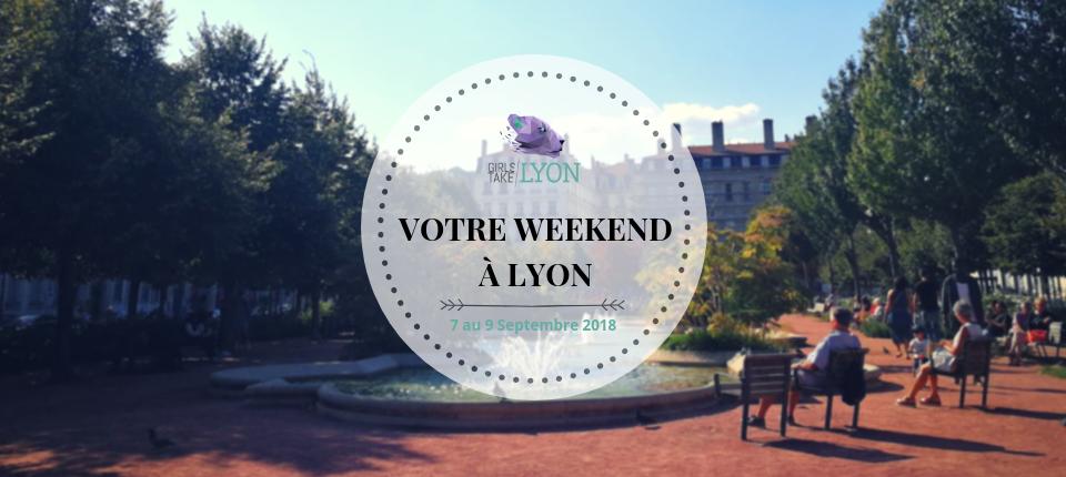 Nos coups de cœur du week-end à Lyon (7-9 septembre)