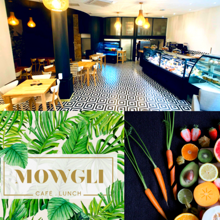 Les Fromagivores Mowgli Café Lunch