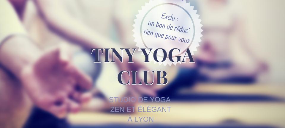 Tiny Yoga Club : Nouveau studio de yoga élégant et intimiste