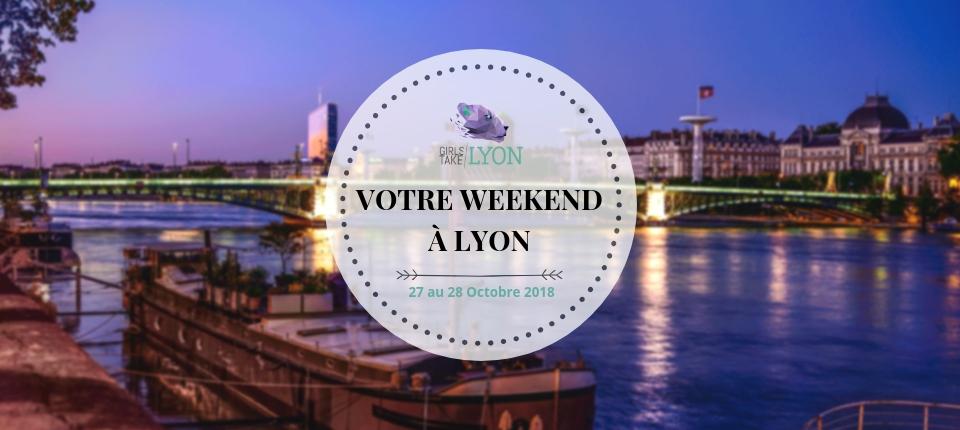 Nos coups de cœur du week-end à Lyon (27-28 octobre)