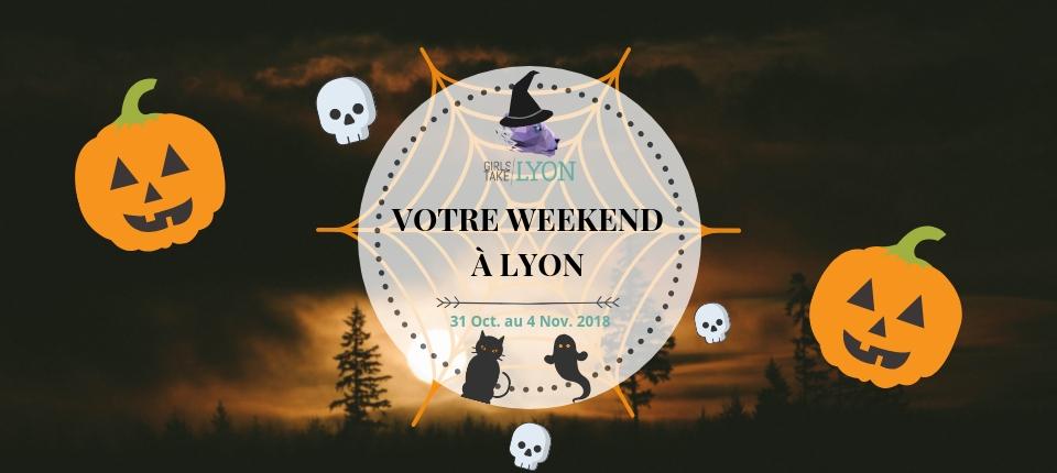 Nos coups de cœur du week-end à Lyon (31 oct au 4 nov)