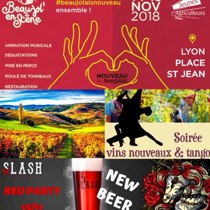 Beaujolais Nouveau Lyon