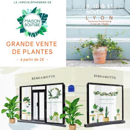Ventes de plantes Lyon