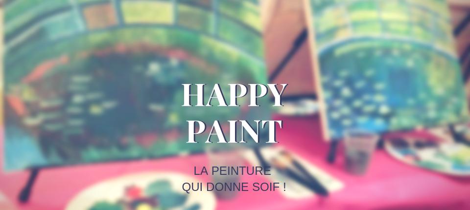 A vos pinceaux, les soirées Happy Paint débarquent à Lyon !