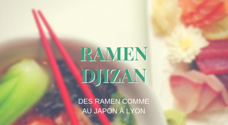 Ramen Djizan : des véritables ramen comme au Japon