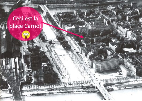 La plus belle avenue de Lyon… avant l'arrivée de l'autoroute !