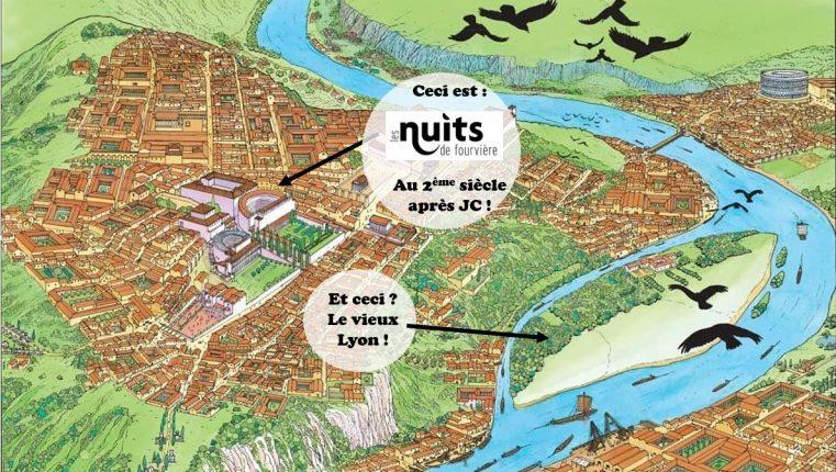 L'histoire de Lugdunum vu du ciel, Lyon comme vous ne l'avez jamais vu !