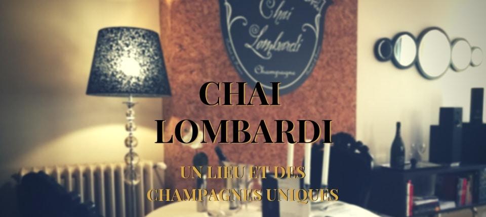 Champagne ! Découvrez le Chai Lombardi à Lyon