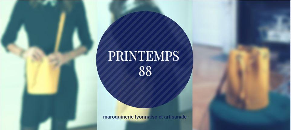 Printemps 88, la maroquinerie artisanale de luxe 100% made in Lyon !