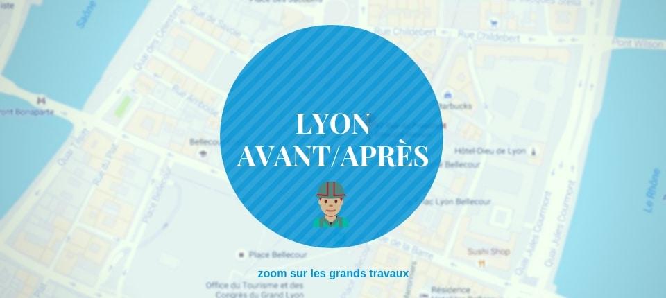 Découvrez les transformations urbaines de Lyon en photo !