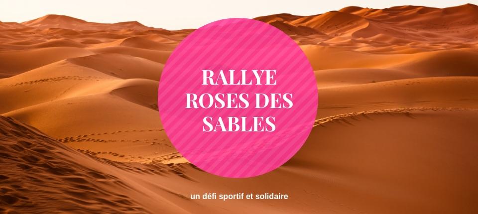 En route pour le rallye Trophée Roses des Sables d'Emilie et Joanna
