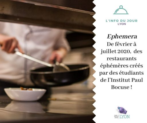 Ephemera : le concept des étudiants de l'Institut Paul Bocuse