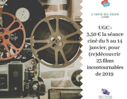 Info Lyon : des séances de cinéma à 3,5€