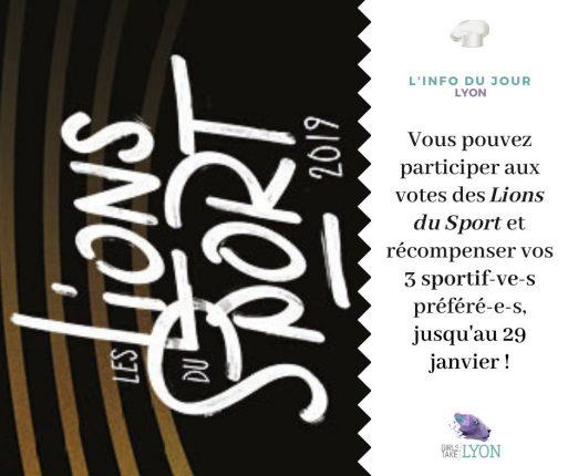 Lions du Sport 2019, les sportifs lyonnais mis en lumière