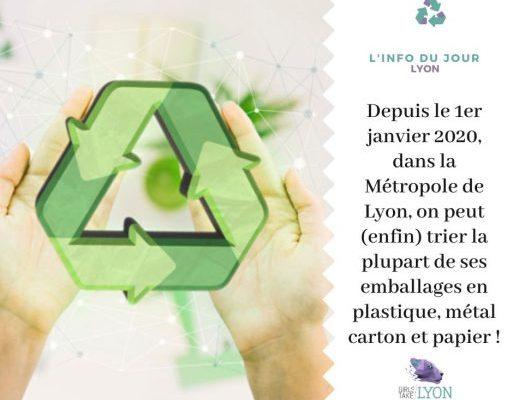 Simplification et élargissement du tri de ses emballages à Lyon