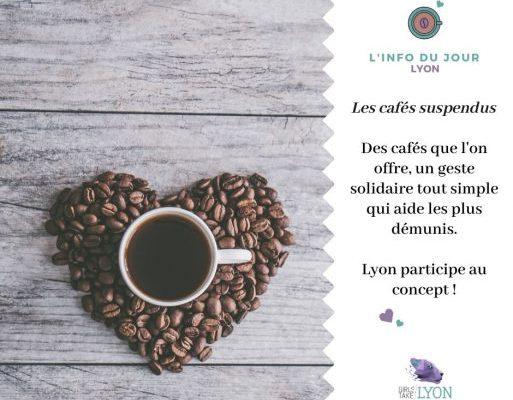Les cafés suspendus à Lyon