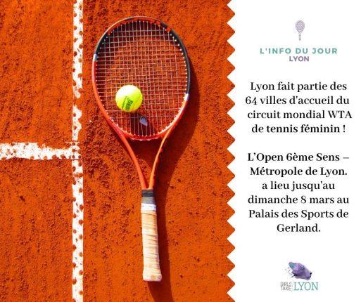 Un tournoi de tennis féminin à Lyon !