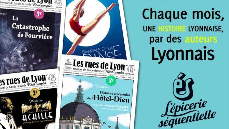 BD les Rues de Lyon