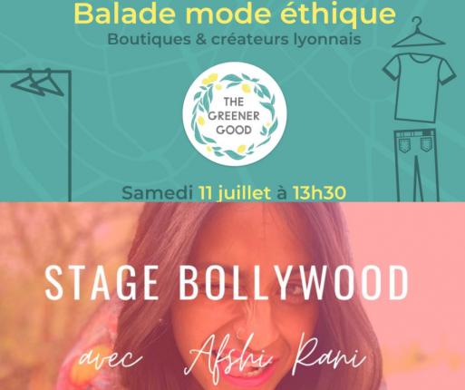 Balade et cours de danse à Lyon