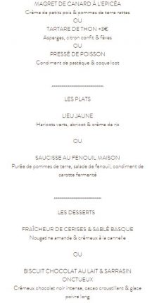 menu kitchen cafe lyon