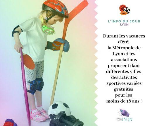 Vacances d'été sportives à Lyon