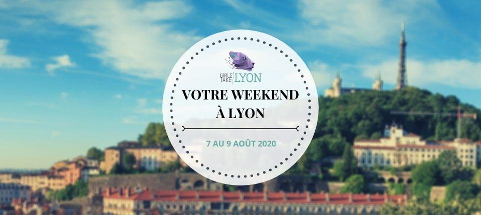 Nos coups de cœur du week-end à Lyon (7 au 9 août)
