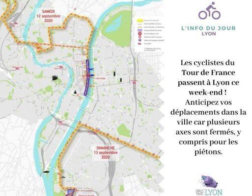 Tour de France à Lyon : circulation et stationnements interdits